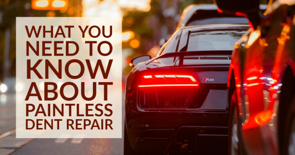 What You Need to Know About Paintless Dent Repair