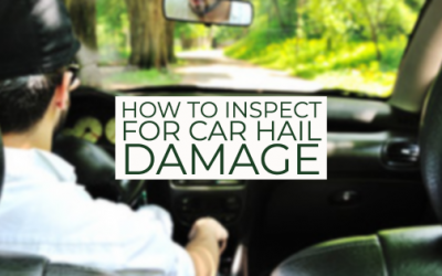 How to Inspect for Car Hail Damage