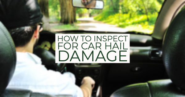 car hail damage