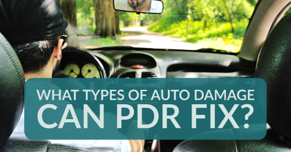 What Types of Auto Damage Can PDR Fix?