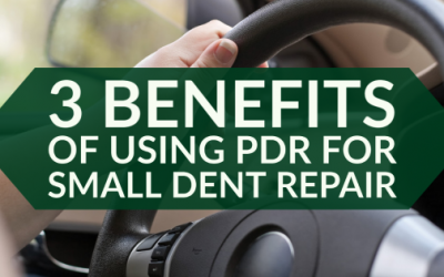 3 Benefits of Using PDR for Small Dent Repair