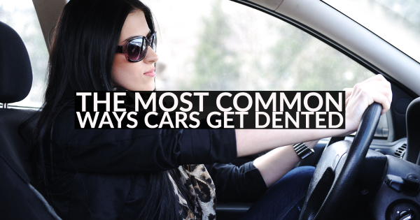 The Most Common Ways Cars Get Dented